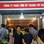 Tấm ốp tường 3D Tham gia hội chợ Vietbuild tháng 11. 2015