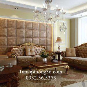 Tấm ốp tường da 3d DP2003