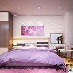 Trang trí phòng cưới đẹp lung linh với tấm ốp tường 3D