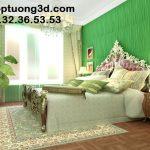 Trang trí nội thất phòng bé gái cùng tấm ốp 3D