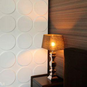 Tấm ốp tường 3d ellipses wallart 3