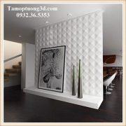 Tấm ốp tường 3d chất liệu nhựa PVC