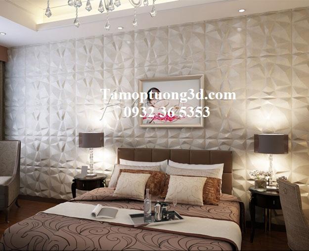 Tấm ốp tường nhựa 3d  Diamond 1
