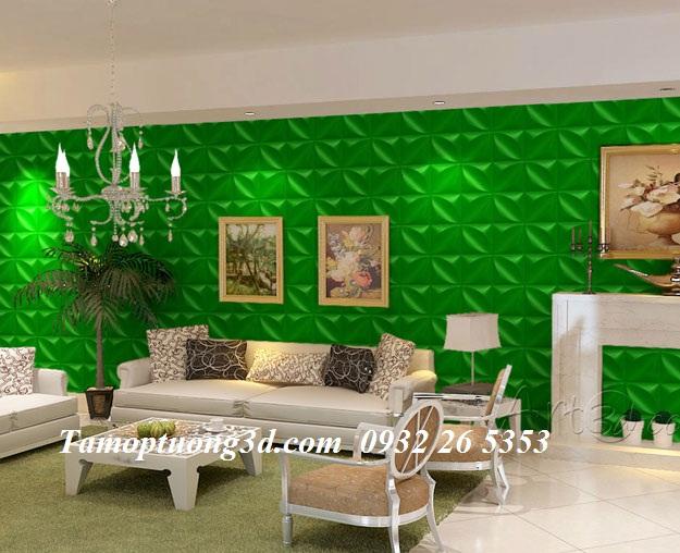 Tấm ốp tường nhựa 3d Leaf 11