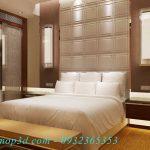 Vật liệu trang trí nội thất cao cấp từ tấm ốp da 3d