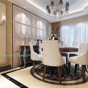 Vật liệu trang trí nội thất cao cấp từ tấm ốp da 3d mã DP6038-Case-A