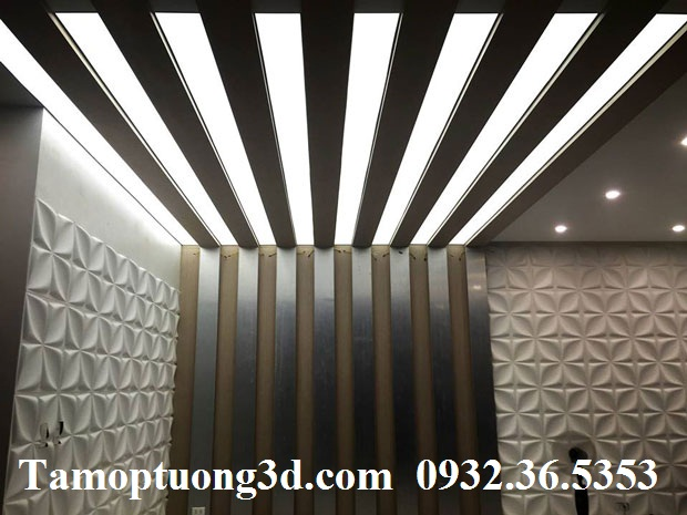 Vật liệu trang trí tường nội thất 3d hình hoa ARY -1