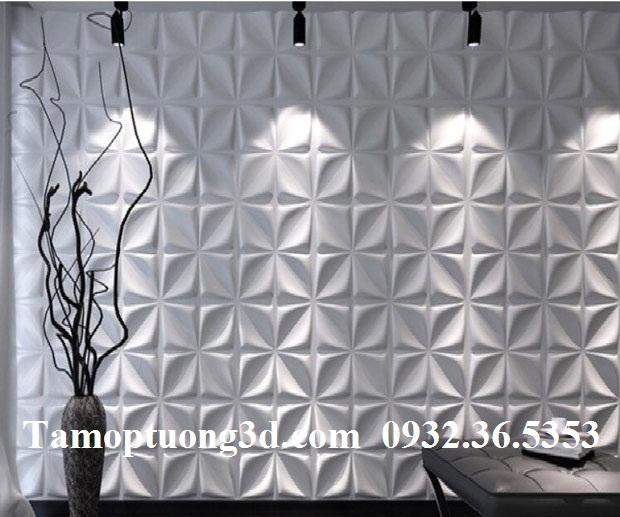 Vật liệu trang trí tường nội thất 3d hình hoa ARY