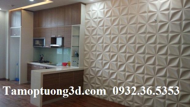 Vật liệu trang trí  tường nội thất 3d hình hoa ARY -2