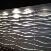 Vật liệu trang trí 3d hình sóng sand 1