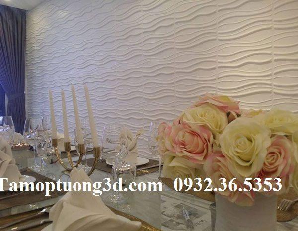 Vật liệu trang trí 3d hình sóng sand