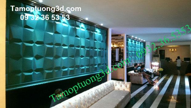 Vật liệu trang trí 3d nội thất phòng  bé hình khối Mosaic-2