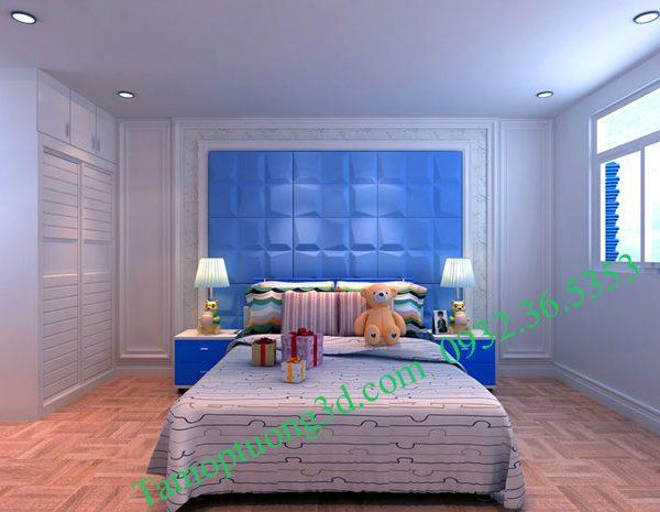 Vật liệu trang trí 3d nội thất phòng bé hình khối Mosaic