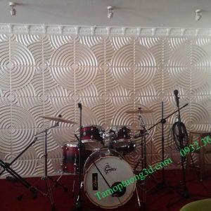 Vật liệu trang trí 3d spa nội thất, sân khấu hình khối xoắn tròn Ripple