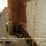 Báo giá phun PU FOAM Polyurethane foam cách âm cách nhiệt toàn quốc