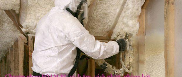 Báo giá hhun foam PU cách âm cách nhiệt chống cháy 1