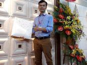 Công ty TNHH Tấm ốp trang trí 3d tham gia hội chợ vietbuil 2018